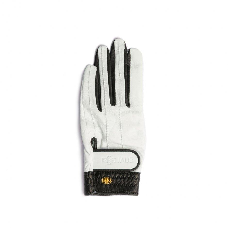 Elegant Golf Glove【左手】white-black