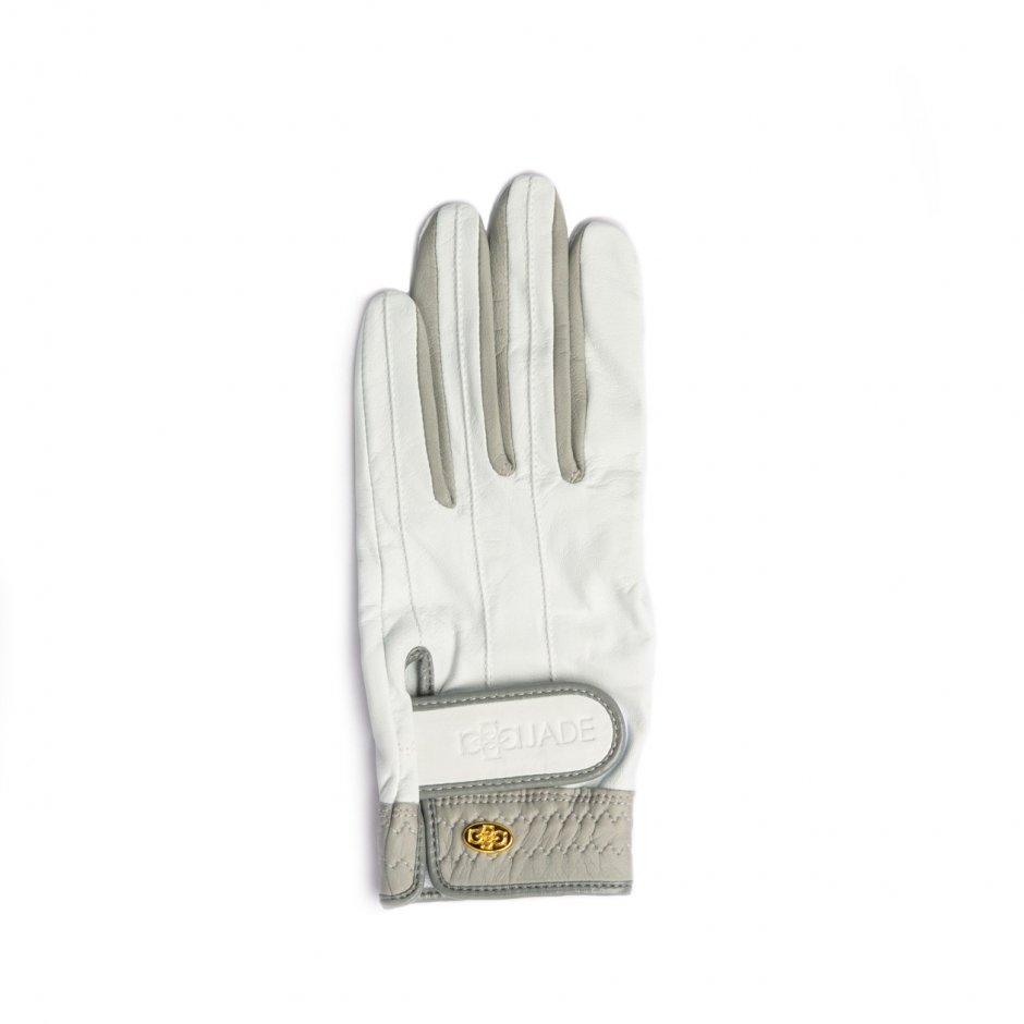 Elegant Golf Glove【左手】white-grey