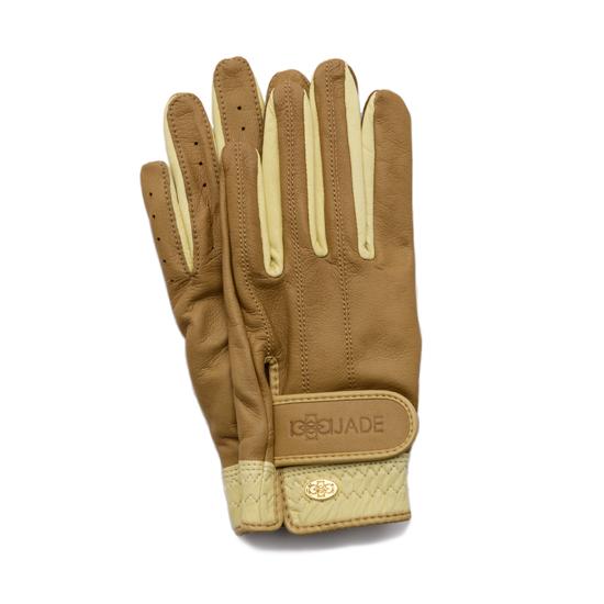 Elegant Golf Glove【両手】brandy-beige