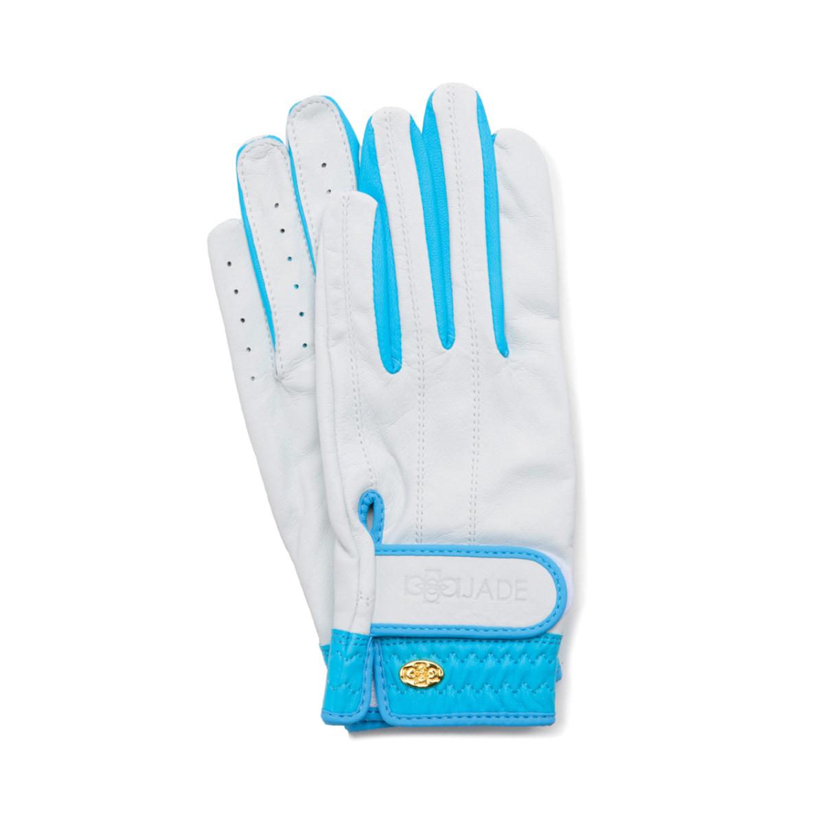 Elegant Golf Glove【両手】white-pacific