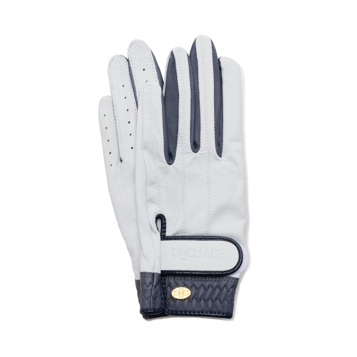 Elegant Golf Glove【両手】white-smoke